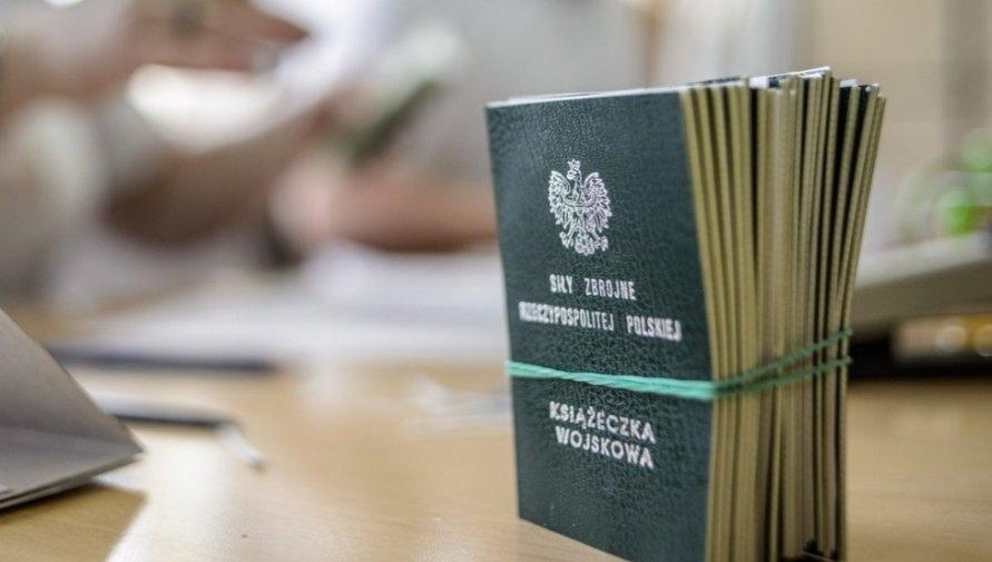 Zdjęcie książeczki wojskowej