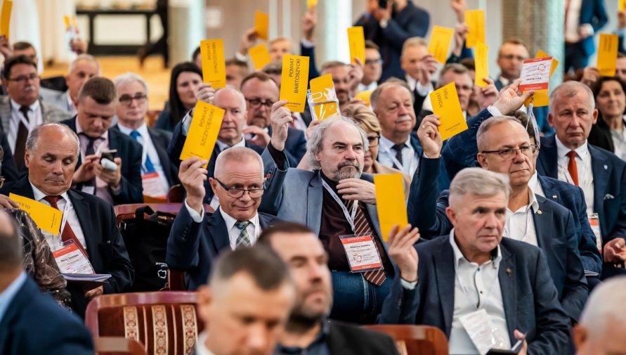 Zdjęcie z XXVII Zgromadzenia Ogólnego Związku Powiatów Polskich